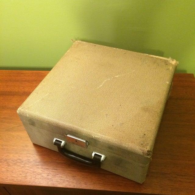 Vintage Smith-Corona Sterling Typewriter & Case - Image 6 of 8