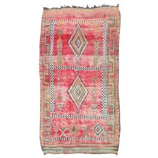 Vintage Moroccan Boujaad Rug 11'6 x 6'