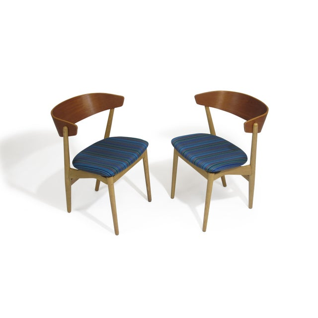 Bramin Teak and Oak Dining Chairs - Image 2 of 7