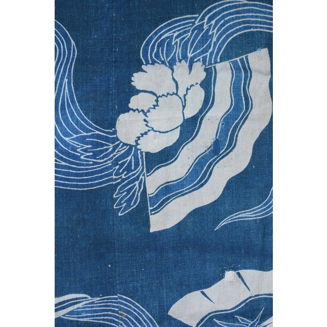 Image of Antique Japanese Indigo Tsutsugaki Cloth