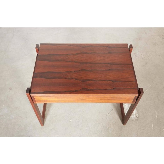 Image of Danish Rosewood Nightstand