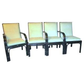 Pierce Martin Rattan Chairs - Set of 6