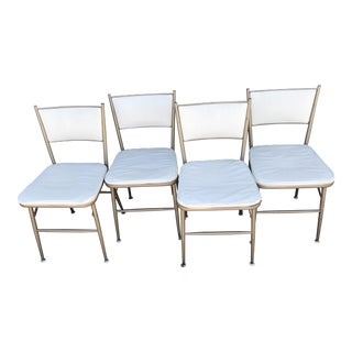 1940s Vintage Durham Celesta Folding Chairs - Set of 4