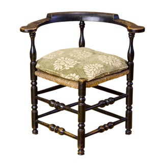 Painted Maple William & Mary Maple Corner Chair