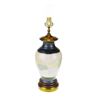 Asian Inspired Ceramic Table Lamp