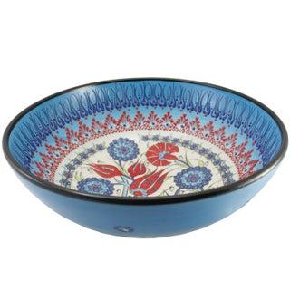 Ceramic Samur Bowl in Cobalt Blue