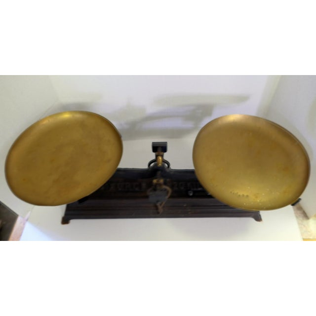 French Vintage Iron Scale - Image 3 of 6