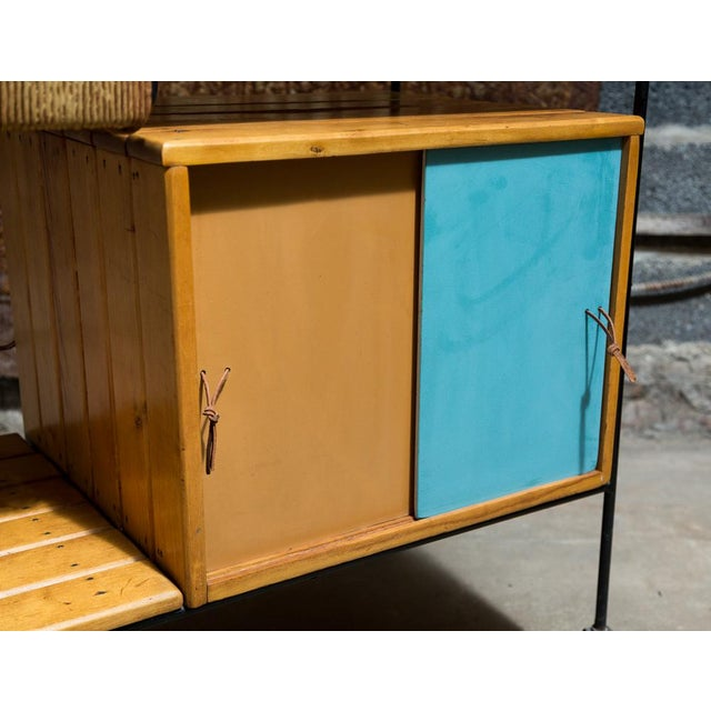 Vintage Arthur Umanoff Rolling Bar Cart - Image 8 of 11