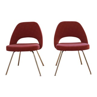 Saarinen Executive Side Chairs - a Pair