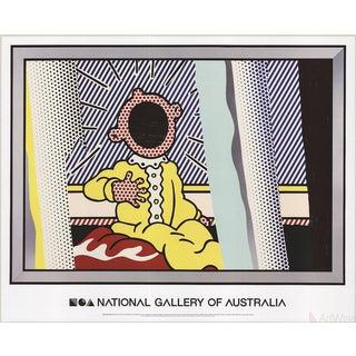 Roy Lichtenstein, Reflections on the Scream, 2013 Poster