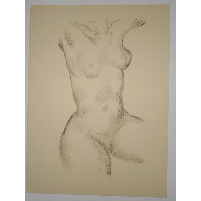 "Image of Vintage Silkscreen Maillol ""Strange Nudes"" Folio"