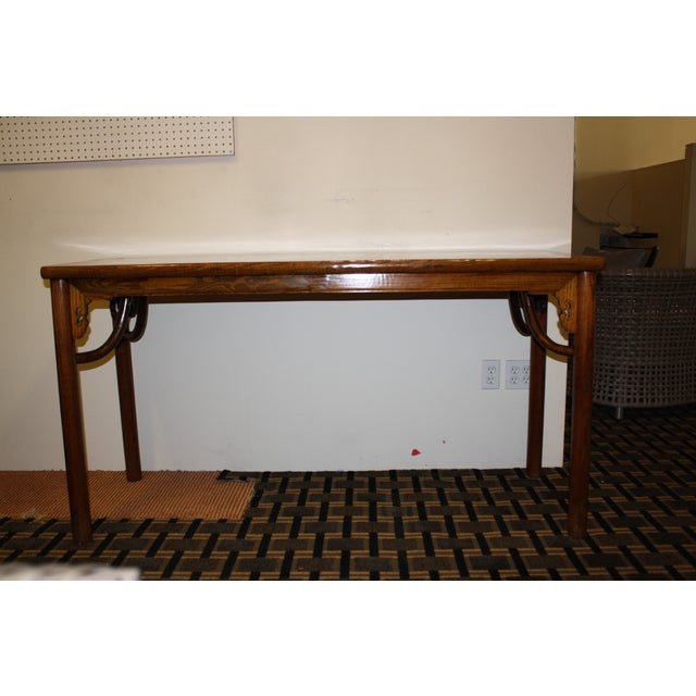 McGuire Asian Antique Chinese Console Table - Image 2 of 10