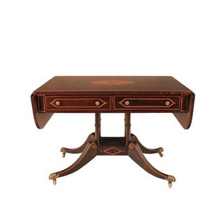 Regency Style 2-Drawer Console/Sofa Table