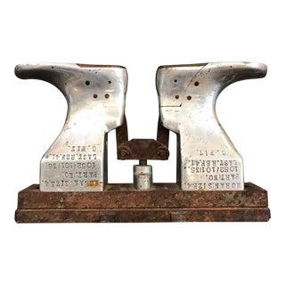 Vintage Industrial Shoe Mold