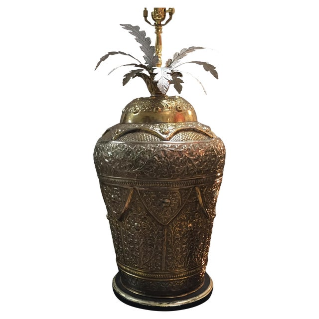 Repousse Lamp - Image 1 of 4