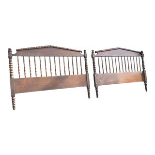 Jenny Lind Full Size Spindle Headboard Footboard & Side Rails