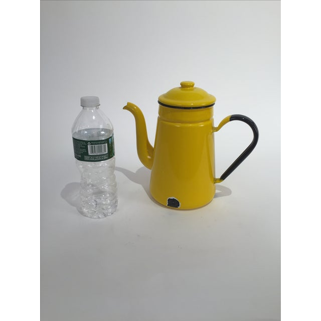 Vintage Yellow Tea Pot - Image 3 of 7