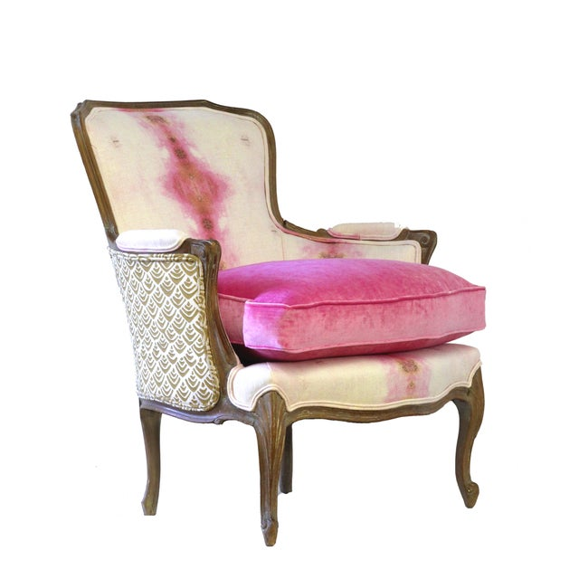 Image of Pink Opal French Bergere Chair