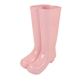 Pink Les Bottes Umbrella Stand