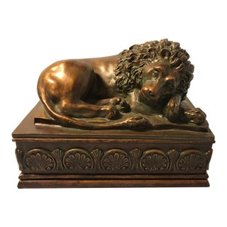 Decorative Regal Lion Keepsake Box