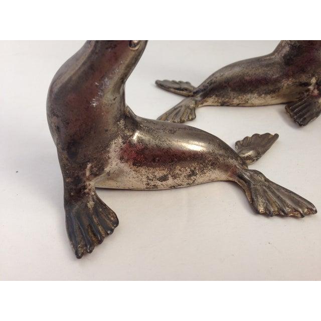 Image of Antique Bakelite Seal Salt & Pepper Shakers - Pair