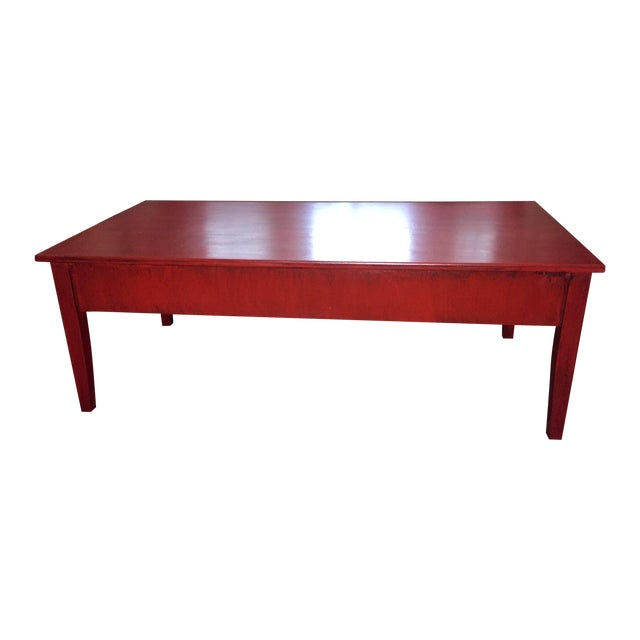Transitional Painted Coffee Table Chairish