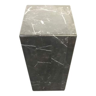Modern Black Marble Stand
