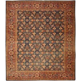 Antique 19 Century Persian Tabriz Carpet