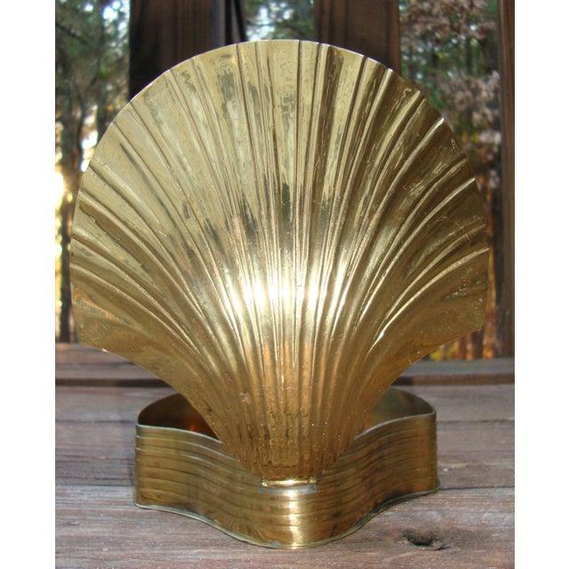 Art Deco Brass Seashell Candy Box - Image 3 of 7