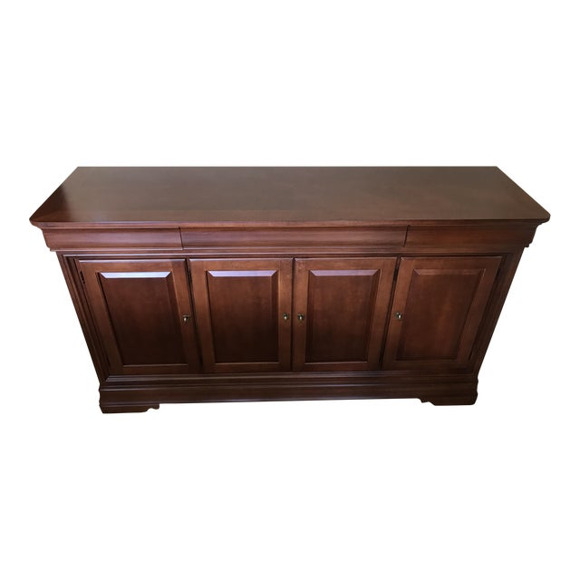 Thomasville martinique wooden buffet chairish for Bedroom furniture 75034