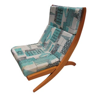 Mid-Century Modern Interlocking Lounger