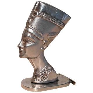 Sterling Silver Nefertiti Statue
