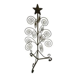 Vintage Brass Christmas Tree
