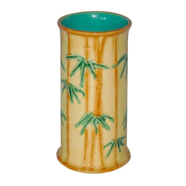 Tiffany Portugese Ceramic Vase - Image 1 of 4