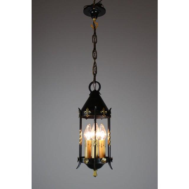 Spanish Colonial Lantern by Moe Bridges Co. - Image 3 of 7