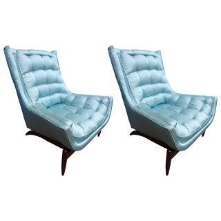 Vladimir Kagan Attributed Club Chairs - A Pair
