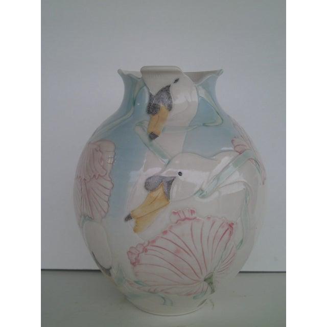 Vintage Art Pottery Vase - Image 2 of 10