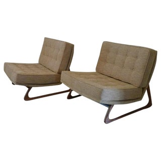Adrian Pearsall Mid-Century Modern Chairs - A Pair