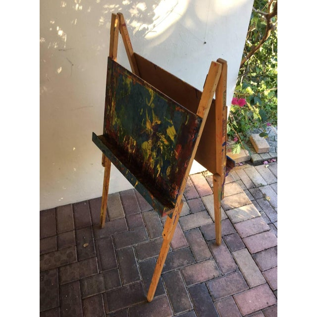 Maine Elementary School Art Easel - Image 6 of 9