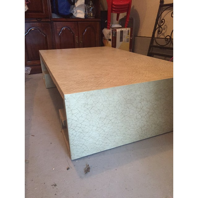 Baker Thomas Pheasant Coffee Table: Baker Cocktail Table
