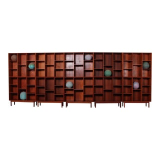 Teak Bookcases by Peter Hvidt for Soborg