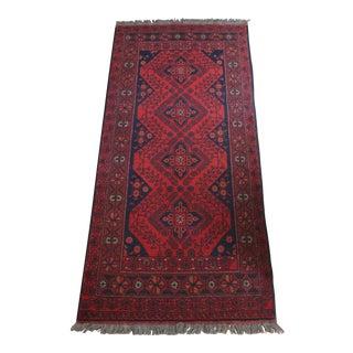 Tribal Overdyed Persian Style Runner - 2′9″ × 6′7″