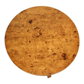 French Burl Elm Center or End Table