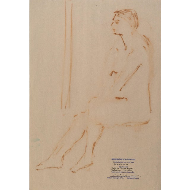 Seated Nude by Virginia Sevier Rogers - Image 5 of 6
