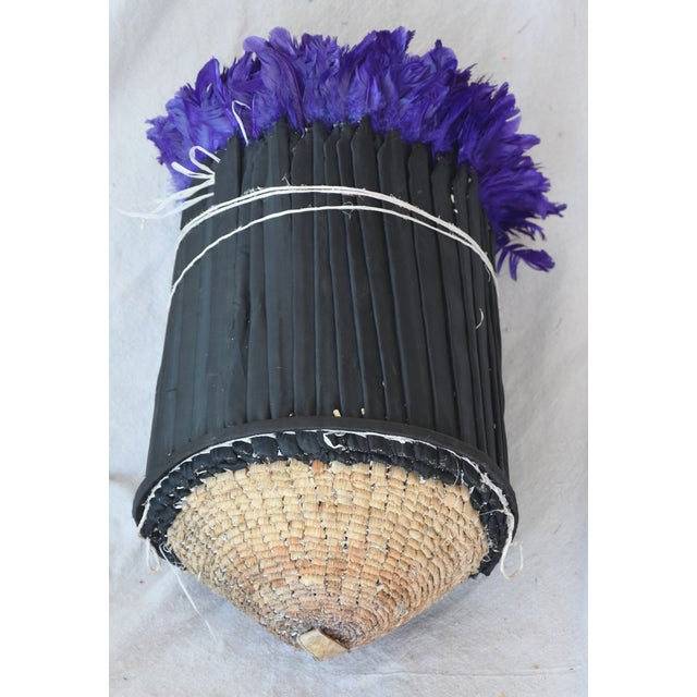 Large 32 Quot Lavender Purple African Feather Juju Wall