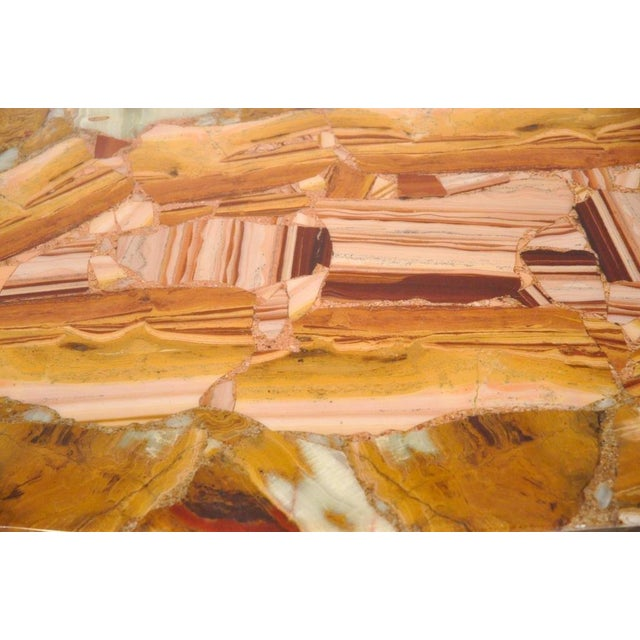 Arturo Pani for Muller Vintage Onyx Coffee Table - Image 3 of 6