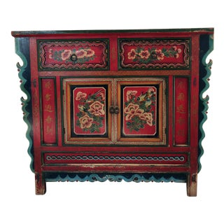 Hand Painted Credenza