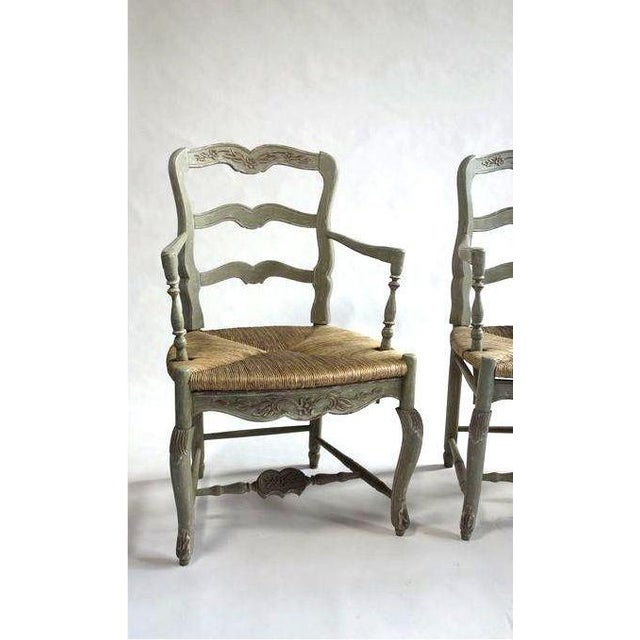 Pierre Deux-Style Settee & Chairs - Image 3 of 7