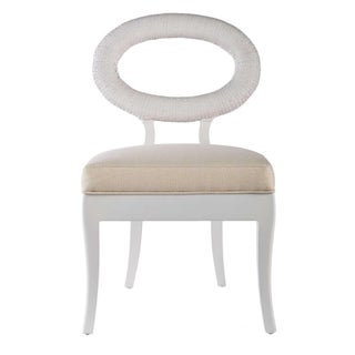 Selamat Designs Libra Winter White Accent Chair