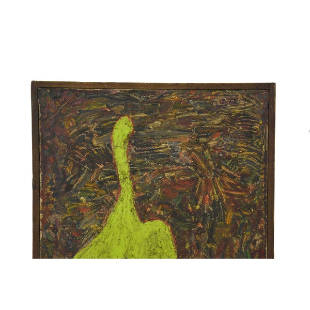 Image of Mid Century Modern Painting